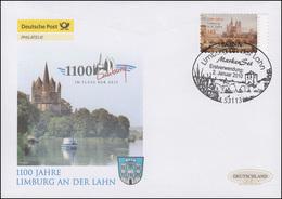 2778 Limburg An Der Lahn - Selbstklebend, Schmuck-FDC Deutschland Exklusiv - BRD