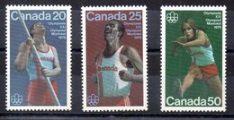 Serie De Canadá Nº YVert 571/73 ** Valor Catálogo 4.0€ - 1952-.... Règne D'Elizabeth II