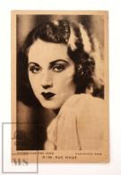 Original Early 1930's Cinema Movie Actress Postcard - Nº 82 Fay Wray - Paramount Film - Good Condition - Acteurs