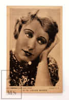 Original Early 1930's Cinema Movie Actress Postcard - Nº 98 Grace Moore - Metro Golden Mayer MGM - Good Condition - Actores