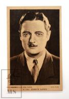 Original Early 1930's Cinema Movie Actor Postcard - Nº 103 Edmun Lowe - Fox Film - Good Condition - Acteurs
