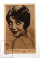 Original Early 1930's Cinema Movie Actress Postcard - Nº 113 Lila Lee - Metro Golden Mayer MGM - Good Condition - Actors