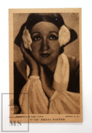 Original Early 1930's Cinema Movie Actress Postcard - Nº 116 Hedda Hopper - Metro Golden Mayer MGM - Good Condition - Actors