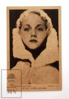 Original Early 1930's Cinema Movie Actress Postcard - Nº 117 Leila Hyams - Metro Golden Mayer MGM - Good Condition - Actors
