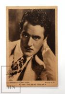 Original Early 1930's Cinema Movie Actor Postcard - Nº 120 Gilbert Roland - Metro Golden Mayer MGM - Good Condition - Actors