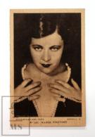Original Early 1930's Cinema Movie Actress Postcard - Nº 121 Marie Prevost - Metro Golden Mayer MGM - Good Condition - Acteurs