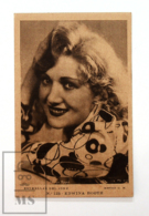 Original Early 1930's Cinema Movie Actress Postcard - Nº 123 Edwina Booth - Metro Golden Mayer MGM - Good Condition - Actors