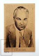 Original Early 1930's Cinema Movie Actor Postcard - Nº 142 Bill Boyd - P.D.O. - Good Condition - Actors