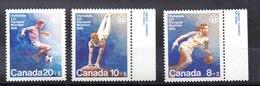 Serie De Canadá N ºYvert 591/93 ** Valor Catálogo 3.0€ - 1952-.... Règne D'Elizabeth II