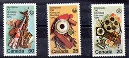 Serie De Canadá N ºYvert 594/96 ** Valor Catálogo 5.75€ - 1952-.... Règne D'Elizabeth II