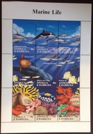 Antigua 1995 Marine Life Dolphins Sheetlet MNH - Vie Marine