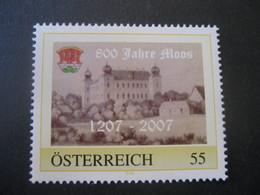 Österreich- Pers.BM 8012991** 800 Jahre Moos, 1207 - 2007 - Österreich