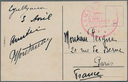 Slowenien: 1917 (ca). Picture Post Card Of 'Mestni Trg. Ljubljana' Addressed To France Cancelled By - Slowenien