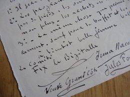 Pierre Félix FIX MASSEAU - Autographes