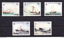 Alderney 1987 Nr 32/36 **, Zeer Mooi Lot K 456 - Alderney