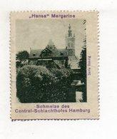 """Y11260/ Reklamemarke Danzig  """"Hansa"""" Margarine Ca.1920 - Publicité"""