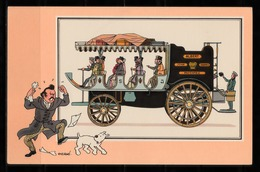 "TINTIN / Chromo ""Voir Et Savoir"" Par Hergé : Automobile N° 18 - Edition DARGAUD - Other"