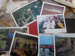 LOT De 7 PHOTO PHOTOGRAPHIES REPROS GD FORMAT-SCOUT Scoutisme GUIDES De FRANCE-PAPE JPAUL II 19801 DIVERS SCOUTING - Scoutisme