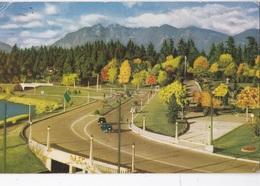 VANCOUVER THE ENTRANCE STANLEY PARK AND NORTH SHORE MOUNTAINS VG   AUTENTICA 100% - Vancouver