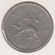 @Y@   Groot Brittanië   10 New Pence  1970   (4797) - 1902-1971: Postviktorianische Münzen