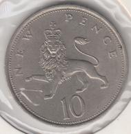 @Y@   Groot Brittanië   10 New Pence  1974   (4799) - 1902-1971: Postviktorianische Münzen