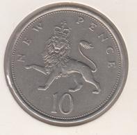 @Y@   Groot Brittanië   10 New Pence  1973   (4802) - Sonstige