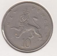 @Y@   Groot Brittanië   10 New Pence  1973   (4803) - 1902-1971: Postviktorianische Münzen