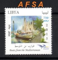 LIBYA 2015 Euromed Postal- Joint Issue With Portugal-Greece-Palestine-Slovenia-Croatia-Cyprus-Lebanon.Malta.Mo - Emisiones Comunes