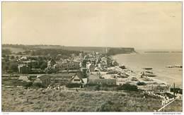 14 .n°34504.la Plage Du Débarquement.le Port De La Libération 1944 . Cpsm 14 X 9 Cm . - Arromanches