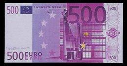 "Polymer-Test Note ""EMI 1997 FACSIMIL"" 500 EURO, Euro Size, Beids. Druck, RRR, UNC - Spanien"