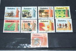 Timbres Oblitérés Du Zimbabwe - Zimbabwe (1980-...)