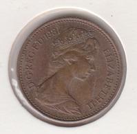 @Y@   Groot Brittanië   1 New Penny    1981   (4811) - 1902-1971: Postviktorianische Münzen