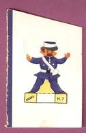Découpage Banania Gendarme H7 - Pubblicitari