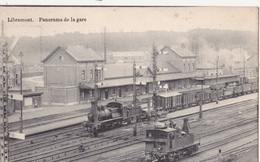 Libramont: La Gare Avec Train. (1913) - Libramont-Chevigny