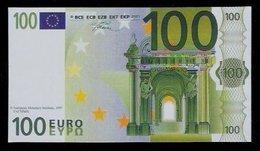 "Polymer-Test Note ""EMI 1997 FACSIMIL"" 100 EURO, Euro Size, Beids. Druck, RRR, UNC - Spanien"