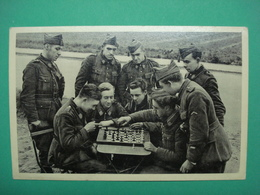 Military WW1 WW2 Gent Offert Part La Confiserie Leon Segaert A Grand Suikerbakkerij Te Gent Reclame Chess - Gent