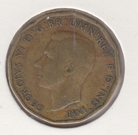 @Y@   Groot Brittanië   3  Pence 1942  (4817) - 1902-1971: Postviktorianische Münzen