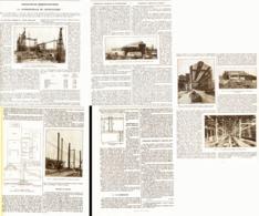 LA SUPERCENTRALE ELECTRIQUE De GENNEVILLIERS  1922 - Technical