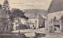 Nièvre - Moux - Place De L'Eglise - France
