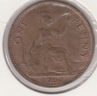 @Y@   Groot Brittanië   1 Penny   1967    (4819) - 1902-1971: Postviktorianische Münzen
