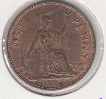 @Y@   Groot Brittanië   1 Penny   1967    (4820) - 1902-1971: Postviktorianische Münzen