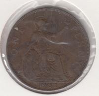@Y@   Groot Brittanië   1 Penny   1931    (4822) - 1902-1971: Postviktorianische Münzen
