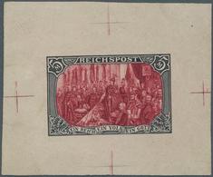 """Deutsches Reich - Germania: 1900, 5 Mark """"Reichsgründungsgedenkfeier"""" Ungezähnt Im Kleinbogen (Forma - Ungebraucht"""