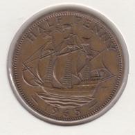 @Y@   Groot Brittanië   1/2  Penny   1965    (4824) - 1902-1971: Postviktorianische Münzen