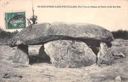 87 - St-Sulpice-les-Feuilles - Beau Plan Sur Le Dolmen De Pierre Levée Des Bras - Saint Sulpice Les Feuilles