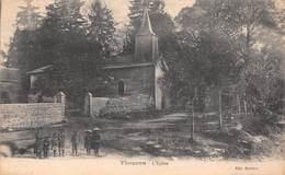 87 - Thouron - Beau Plan Sur L'Eglise - Une Belle Pose D'Enfants - France