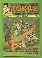 Korak, Son Of Tarzan # 53 - Top Sellers Ltd. - In English - 1975 - TBE/Neuf - Marvel