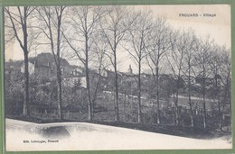 CPA Vue Rare - MEURTHE ET MOSELLE - FROUARD - LE VILLAGE - édition Labouygue à Frouard - Autres Communes
