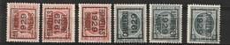 Typo 183-184A+B-189-191A+B - Typos 1922-31 (Houyoux)