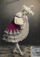 "ILLUSTRATEUR ""E""  ALLEMAGNE Danseuse VERGISS MEIN NIGHT ED NPU - 1900-1949"